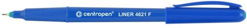 Liner 4621 F zelený hrot v kovové objímce 0,3 mm_2
