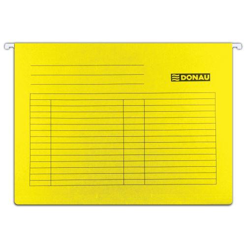 Závěsné desky - kapsy A4 žluté