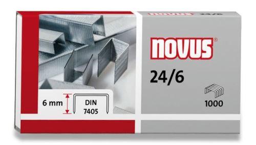 Drátky 24/6 NOVUS 1000 ks