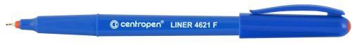 Liner 4621 F červený  hrot v kovové objímce 0,3 mm_2