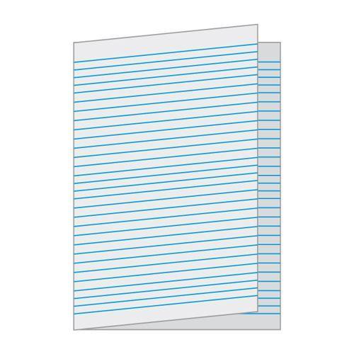 """Papír skládaný A3 linka balení 250 listů, """"dvojlist"""""""
