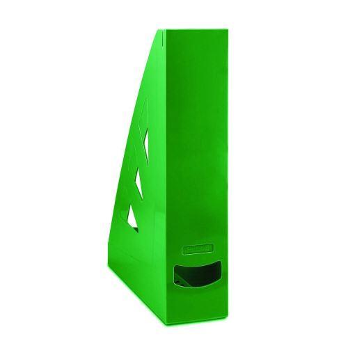 Stojan na časopisy, A4/70 mm, zelený