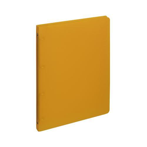 Pořadač 4-kroužek PP A4 2cm OPALINE oranžový _2
