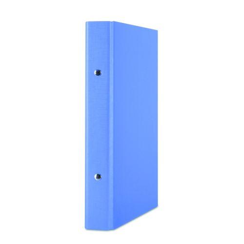 Pořadač 2- kroužek A5 PP 3cm modrá