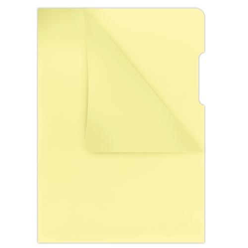 Obal A4 L žlutý matný