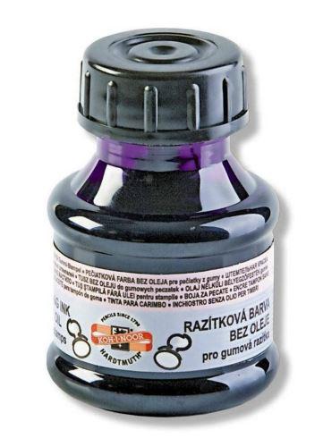 Razítková barva polštářková fialová