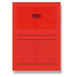 Desky ELCO s okénkem ORDO, červená
