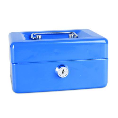 Příruční pokladna 152x115x80 modrá