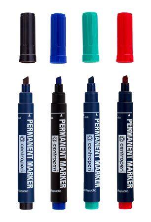 Značkovač 8516 NEVYSYCHAVÝ PERMANENT sada 4 barvy_2