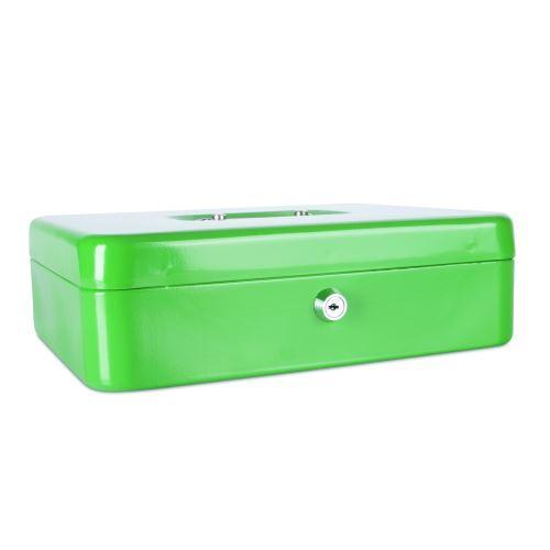 Příruční pokladna 300x240x90 zelená