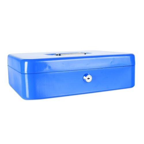 Příruční pokladna 300x240x90 modrá