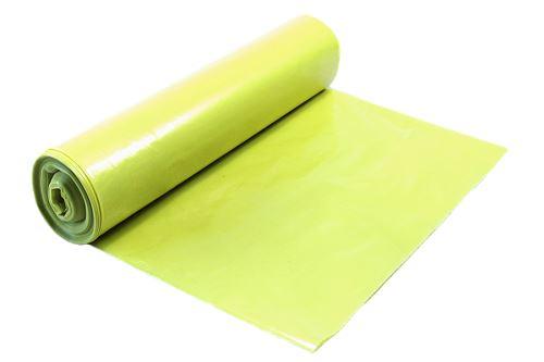 Pytle na odpad 70 x 110 cm 60 µm role 20ks žluté