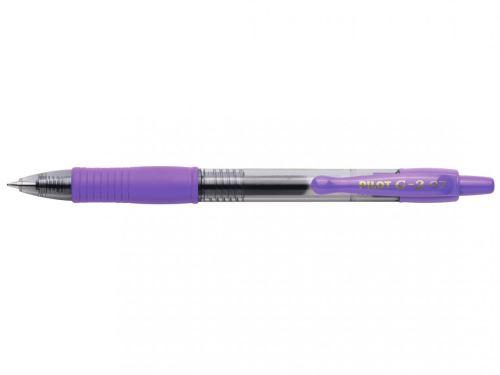 Gelový roller G-2 Pilot fialový,pr. hrotu 0,7mm