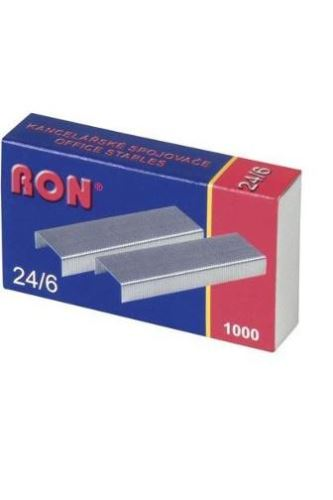 Drátky 24/6 RON 1000 ks
