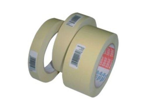 Krepová lepící páska 30mm x 50m žlutá