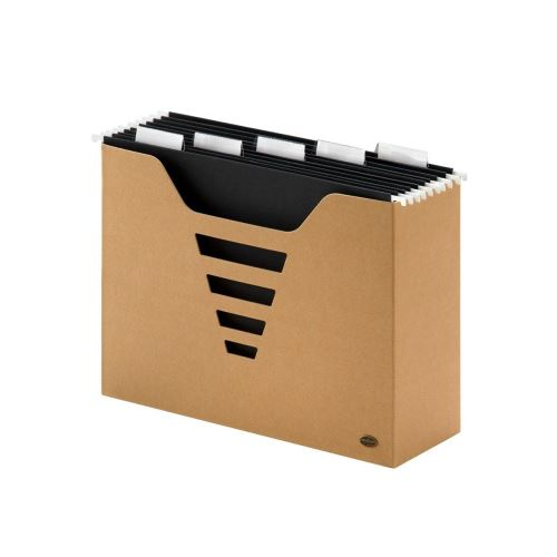 Multo - Zásobník na závěsné desky s deskami, A4, karton, 5 desek Euroflex