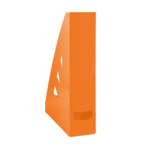 Stojan na časopisy, A4/70 mm, oranžový