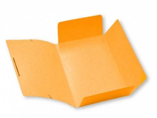 Mapa 253 prešpánová s gumou oranžová_2