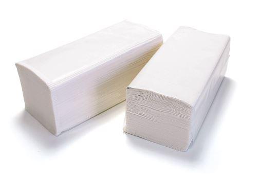 Ručník bílý Z-Z 250ks/20bal./5000ks karton