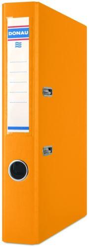 Pořadač pákový A4 5cm PP oranžový DONAU_2