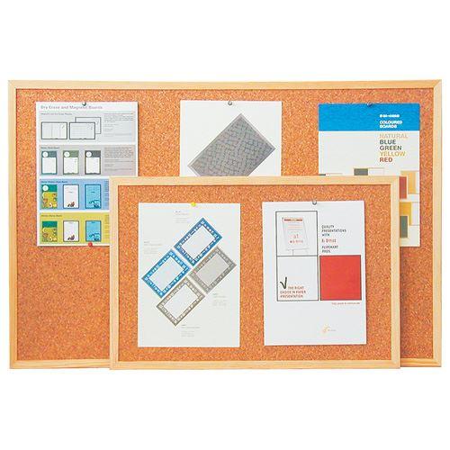 Korková tabule 90x120 - jednostranná