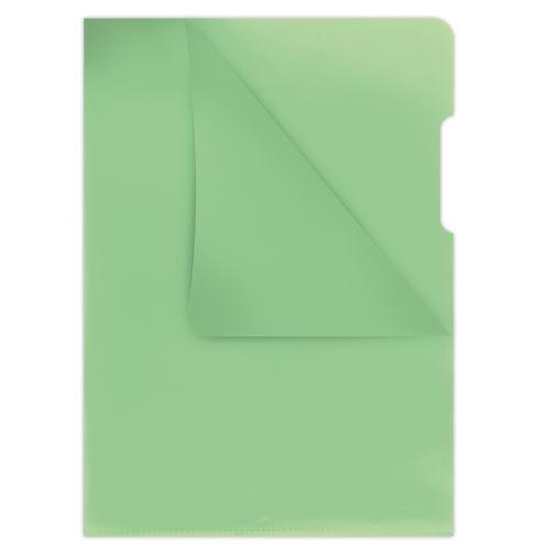 Obal A4 L zelený matný