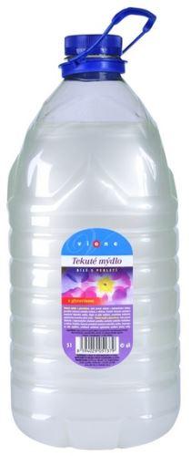 Vione tekuté mýdlo 5l. soudek bílé - balzám s perletí a glycerinem