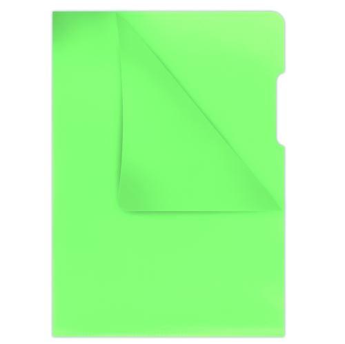 Zakládací obal A4 180 mic. silný hladký zelený DONAU