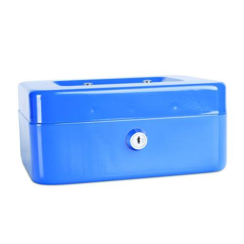 Příruční pokladna 200x160x90 modrá
