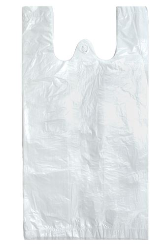 Taška 10 kg bílá PEVNÁ 10,5 mic. 200 ks.