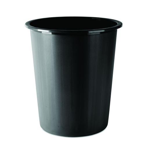 Odpadkový koš PP Donau ,14 L, černý