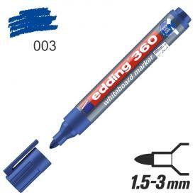 Popisovač tabulový Edding 360 modrý