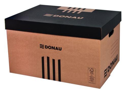 Archivační krabice lepenka, Donau hnědá