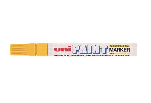 Popisovač UNI PX-20 PAINT Medium  2,2-2,8 mm žlutý