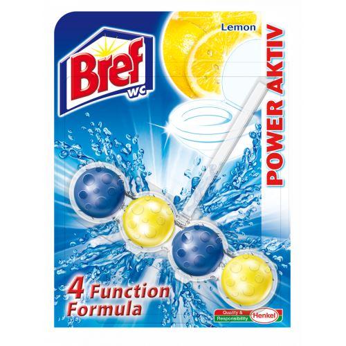 WC závěs BREF s kuličkami Lemon