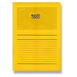 Desky ELCO s okénkem ORDO, žlutá
