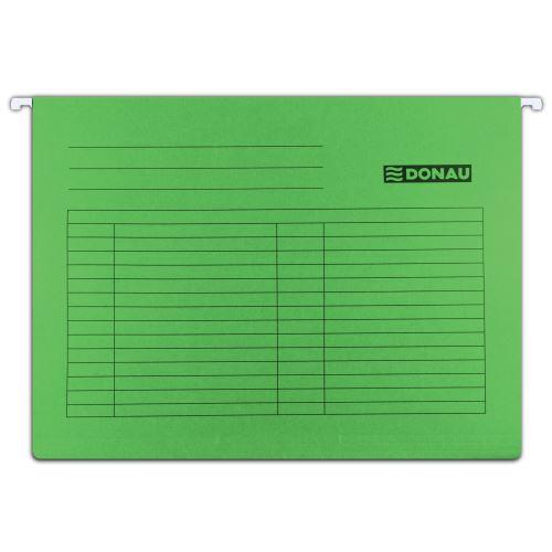 Závěsné desky - kapsy A4 zelené