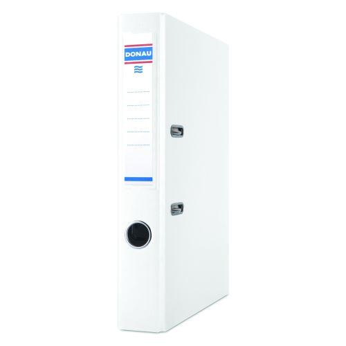 Pořadač pákový A4 5cm PP bílý DONAU_2