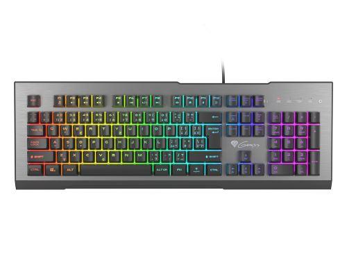 Herní klávesnice Genesis Rhod 500 RGB, CZ/SK layout, 6-zónové RGB podsvícení
